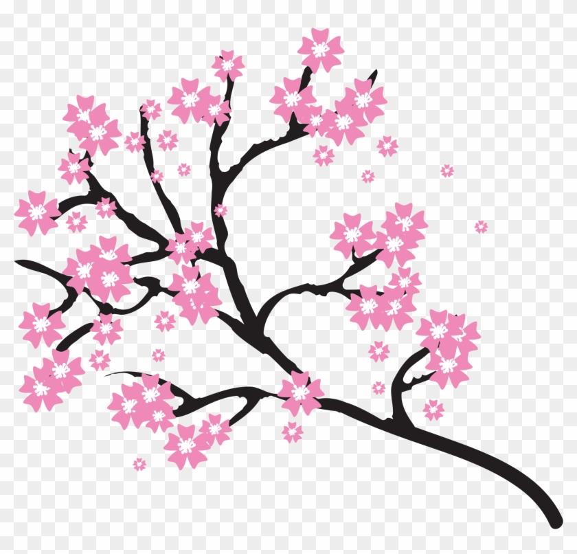 Big Image - Cherry Blossom Tree Clipart #287226