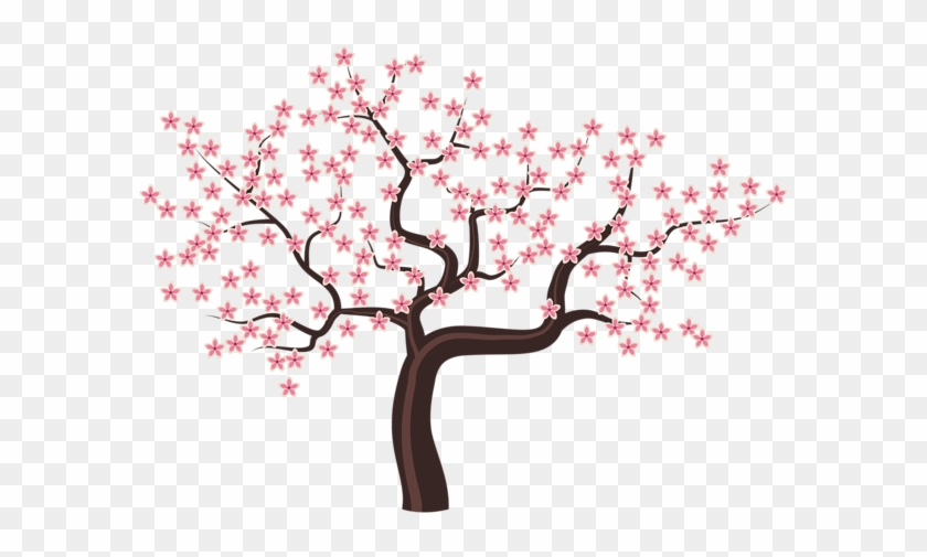 Tree With Flowers Clipart #287297