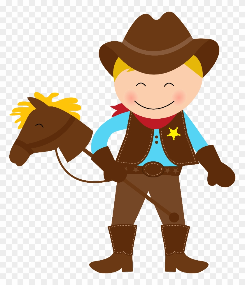 Cowboy E Cowgirl - Cowboy And Cowgirl Clipart #287366