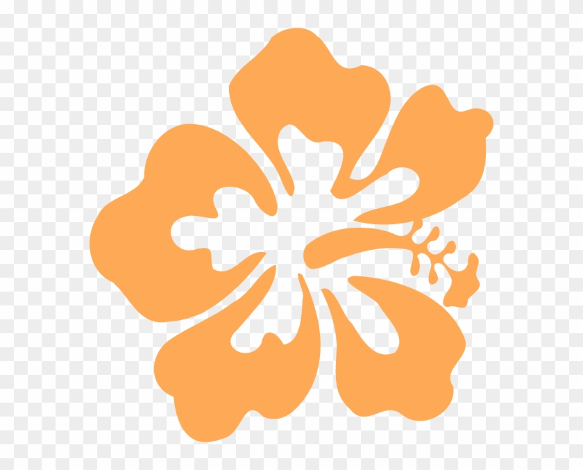 Hibiscus Clip Art - Hawaii Flowers Clip Art #287405