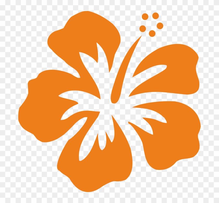 Hibiscus Sur Transfert - Hawaiian Flower Graphic #287412