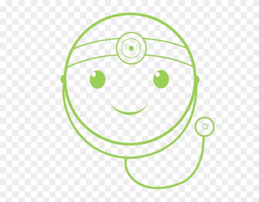 Doctor Smile Icon - Circle #287439
