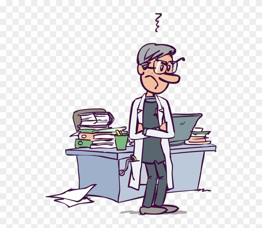 Grumpy Dr - Scrooge - Cartoon #287461