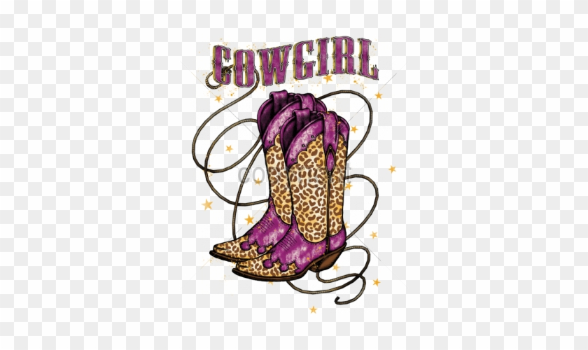 Cowgirl Boots Clipart - Cowboy Boot #287521