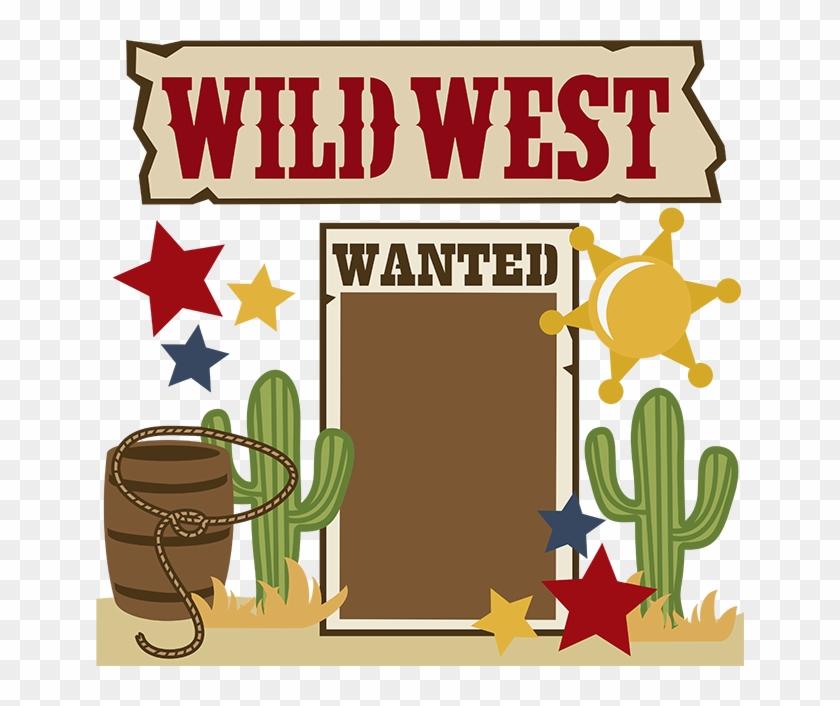 Cowboy Image Free Cartoon Western Clip Art Clipartcow - Wild Wild West Clip Art #287538