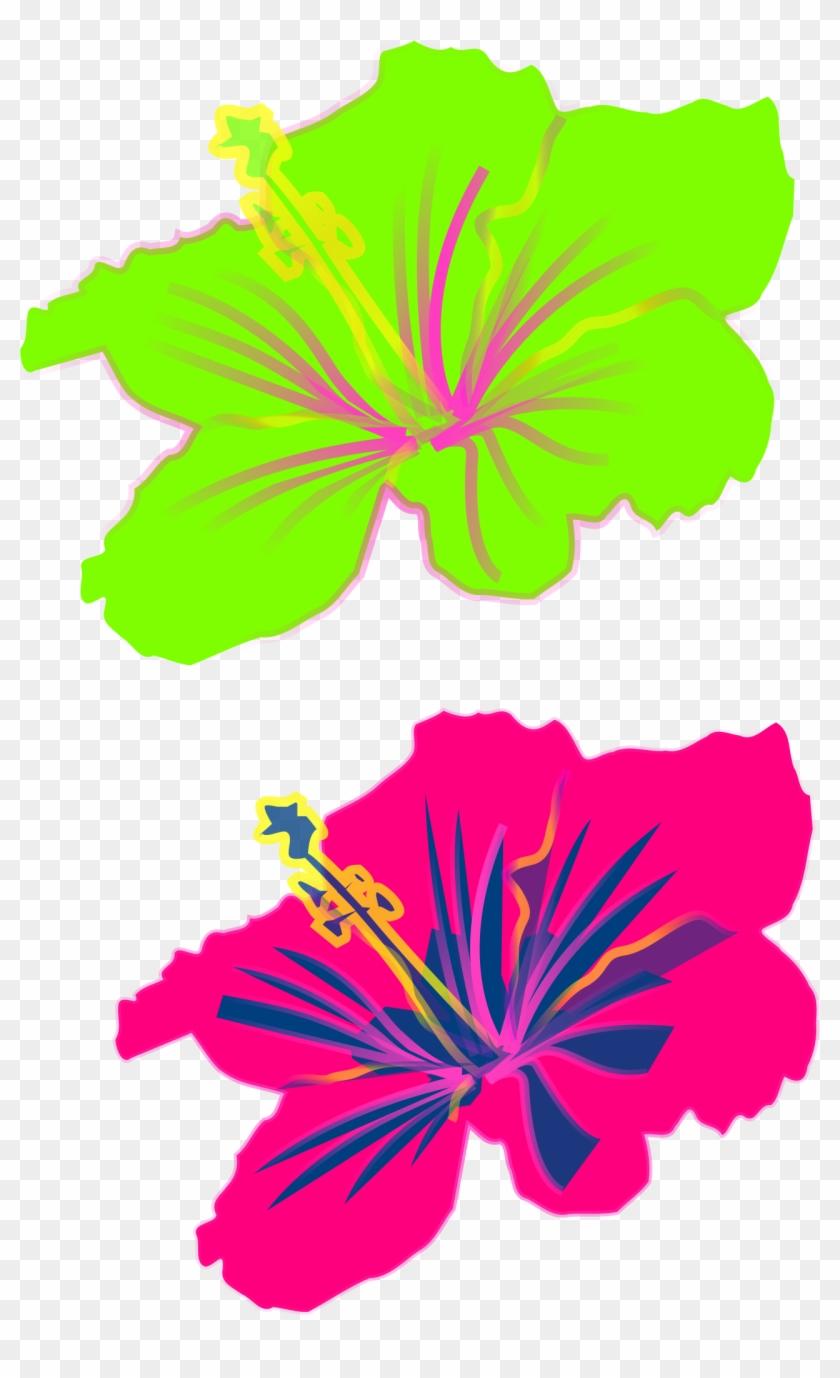 Shoeblackplant Hawaiian Hibiscus Clip Art - Shoeblackplant Hawaiian Hibiscus Clip Art #287607