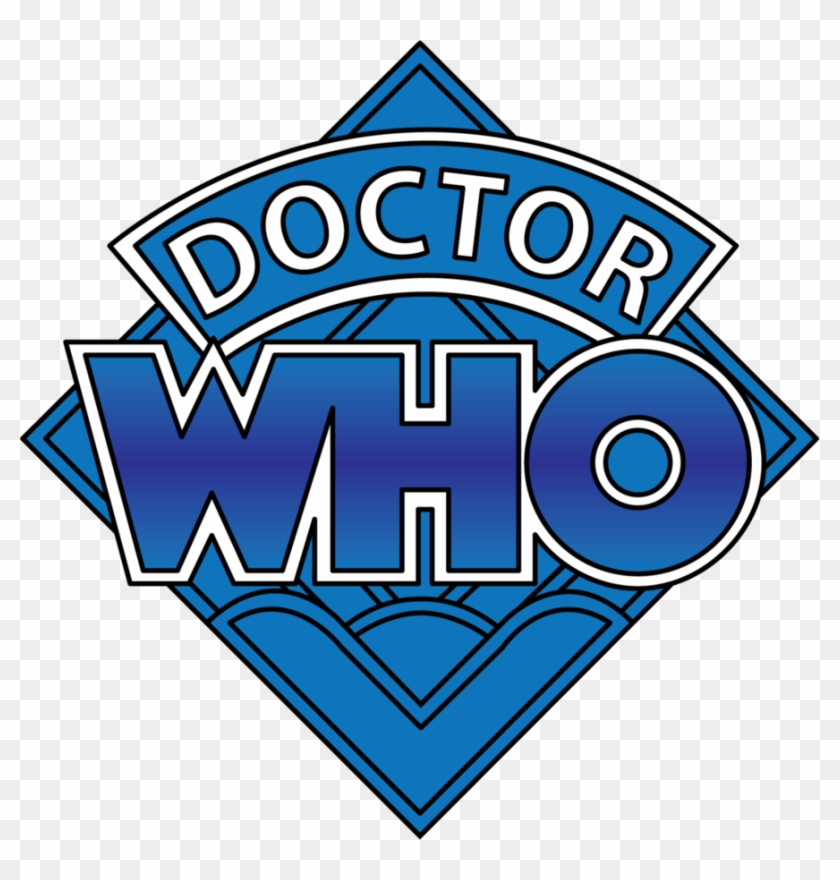 Doctor Who Blue Diamond Title Logo By Sjvernon - Fourth Doctor Who Logo Png #287623