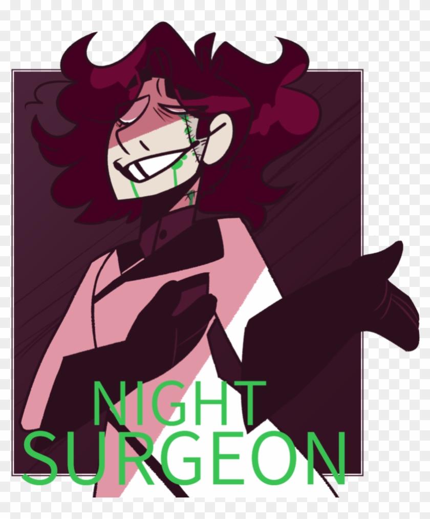 Night Surgeon Redraw By Kingjunkie - Cartoon #287666
