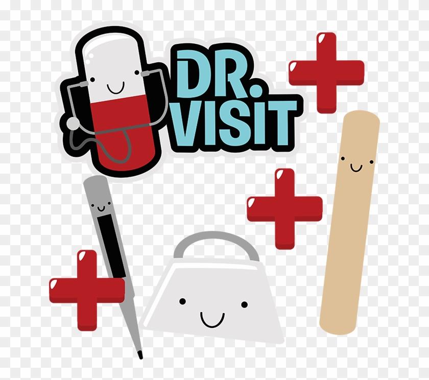 Dr Visit Svg Scrapbook Collection Doctor Svg - Doctor Visit Clip Art #287674