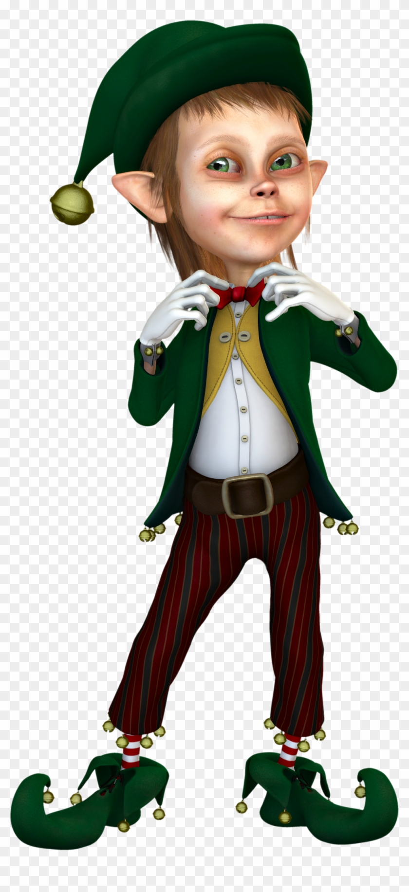 Elf Clipart Transparent Background - Christmas Elf Without Background #287724