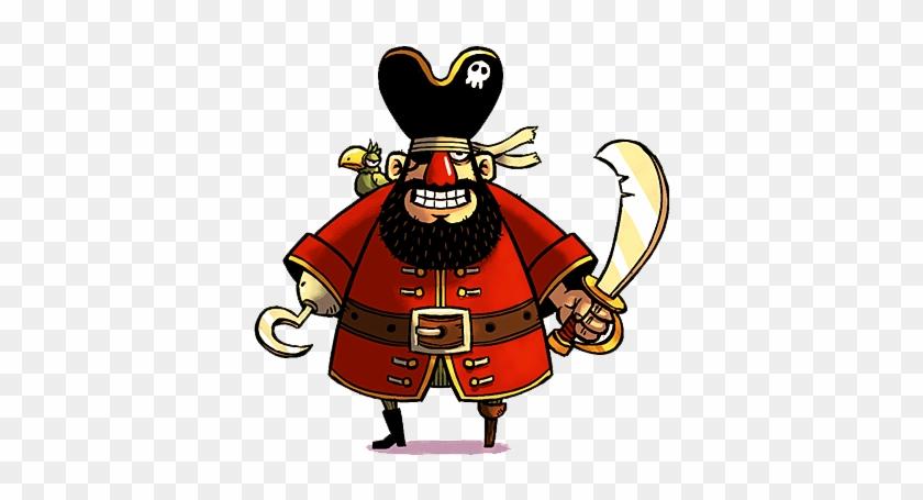 Pirate Png Image - Cartoon Pirate Png #287747