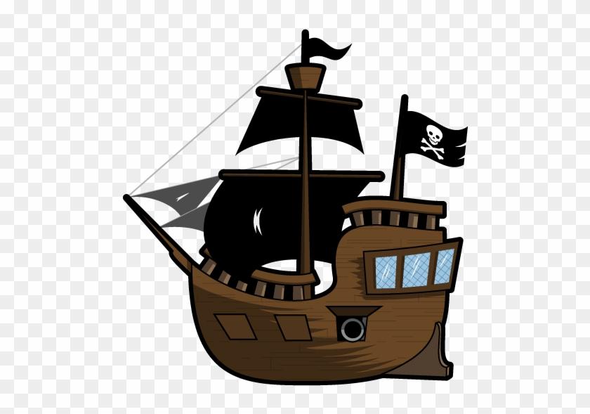 Pirateship - 2d Pirate Ship #287754
