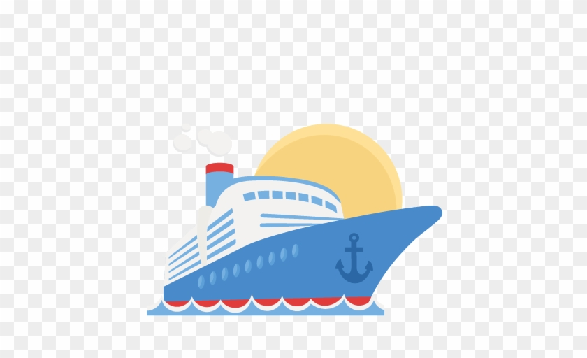 Cruise Ship Svg Scrapbook Cut File Cute Clipart Files - Cruise Ship Clip Art #287797