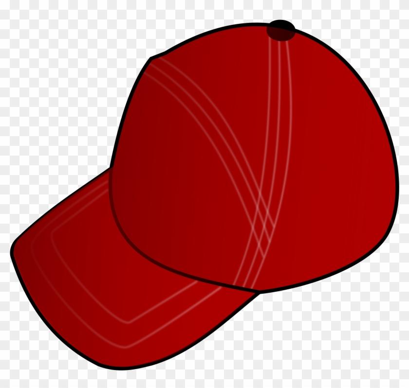 Red Cap - Hat Clip Art #287882