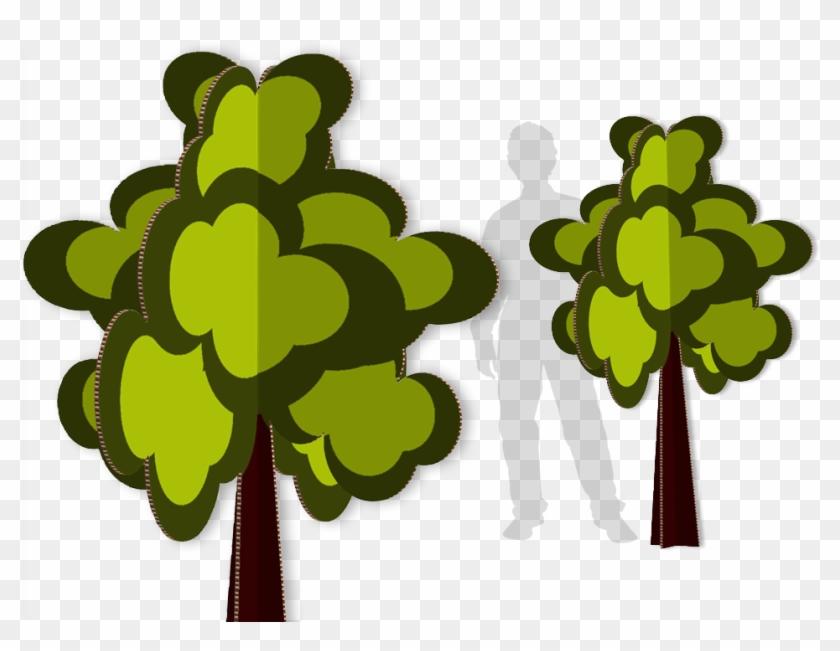 Arvore Decorativa Copy - Tree Cardboard Cutout #287875