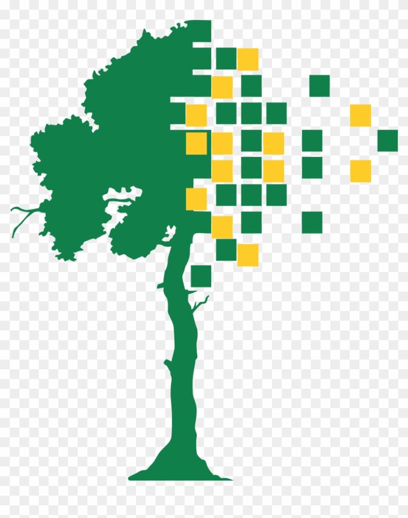 Árvore Da Logo Do Fgsl - Sticker #287890