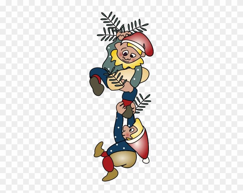 Elf Clipart Small - Elfos De Navidad Png #287947