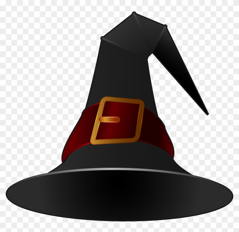 Pirate Hat Clip Art Image - Black Witch Hat Png #287961