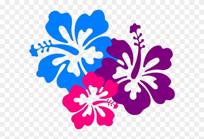 Hibiscus 10 Clip Art - Hawaiian Flower Vector #287973
