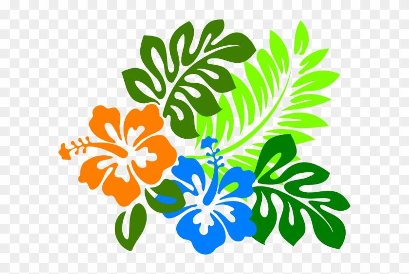 This Free Clip Arts Design Of Keanu Hibiscus - Hawaiian Flower Clipart #287981