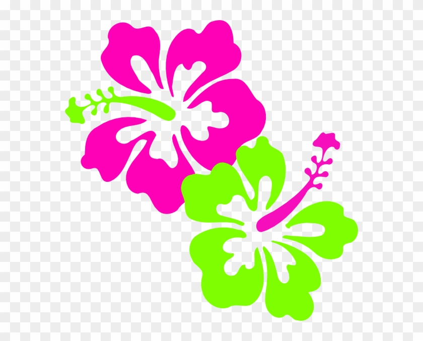 170 Best Hawaiian Hibiscus Images On Mzayat - Neon Green And Pink #287988