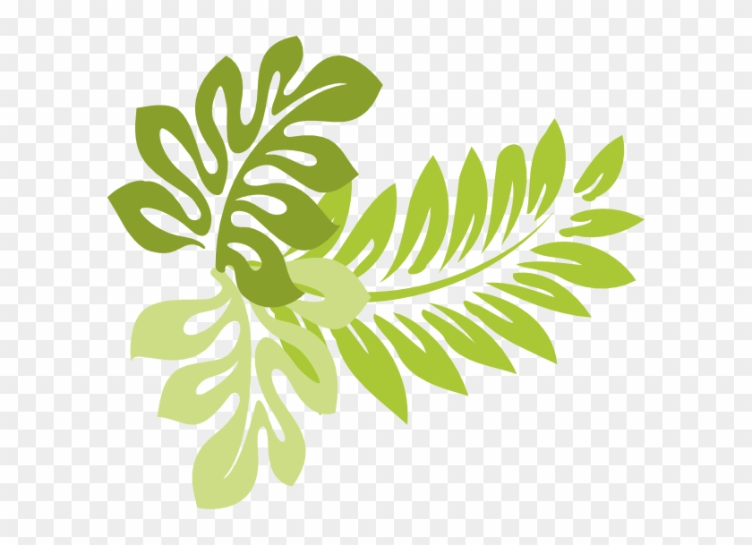 Inspiring Design Leaves Clipart Hibiscus Clip Art At - Tropical Leaf Clip Art #288011