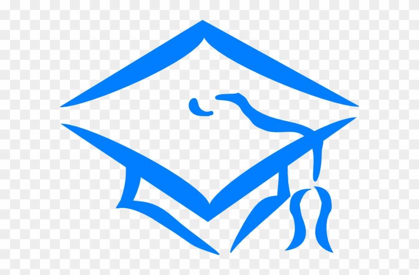 Graduation Cap Clip Art Blue #288026