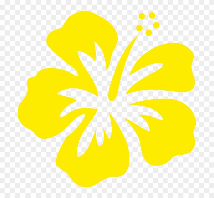 Stickers Réunion Hibiscus Sur Transfert - Hawaiian Flower Graphic #288058