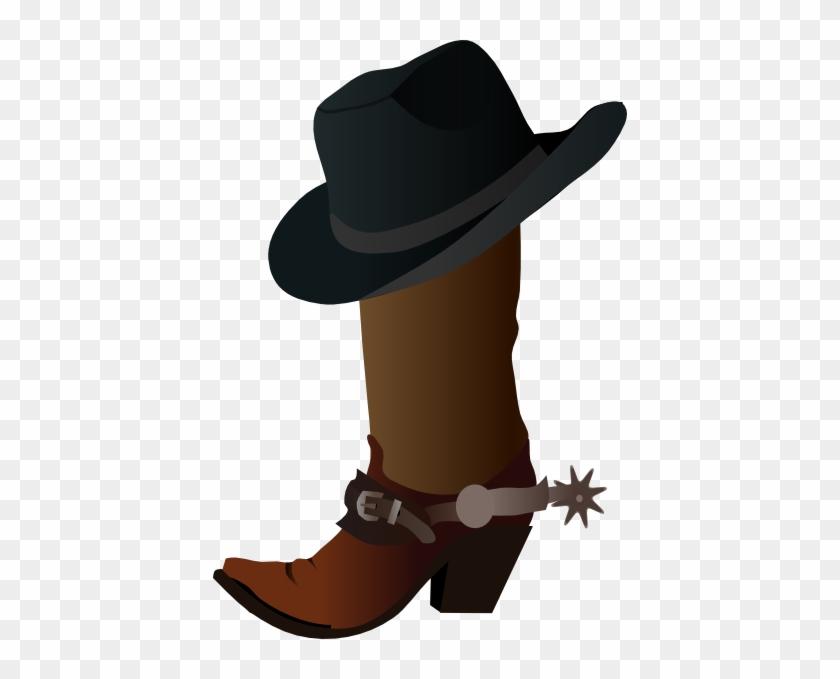 Cowboy Boot Clip Art #288098