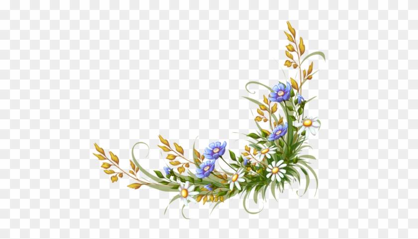 19 - Frame Flower Vector Ai #288140