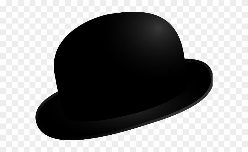 Black Hat Clipart Clipart Free Download - Bowler Hat Clipart Png #288141