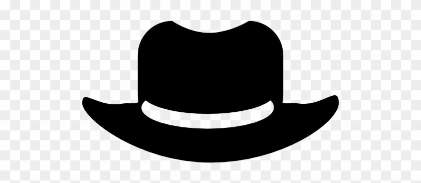 Hat Variant, Fashion, Hats, Hat Silhouette, Hat, Cowboy - Cowboy Hat Icon #288148