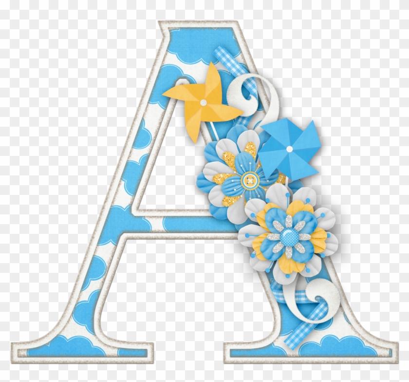 Alfabeto Colores Y Flores - Alphabet #288188