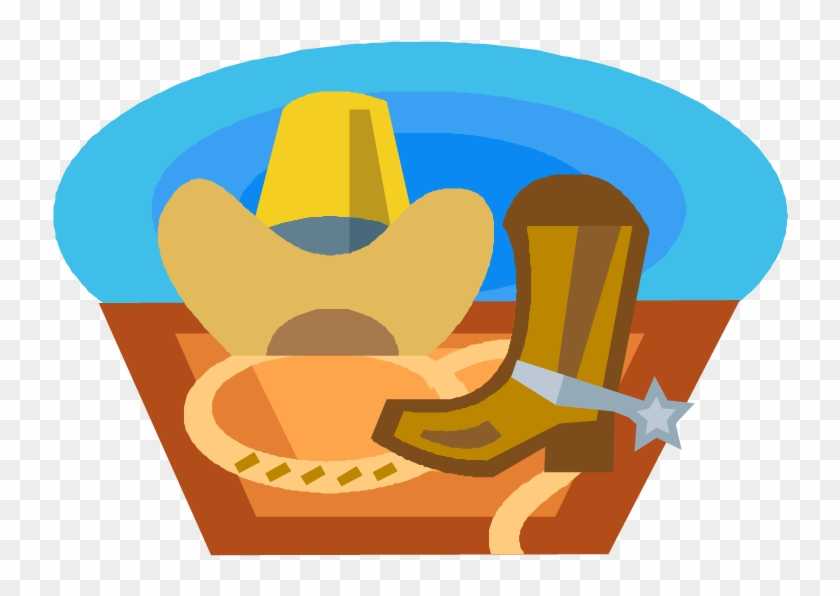 Boots And Cowboy Hat And Ride On Over To Marshfield, - Portable Network Graphics #288199