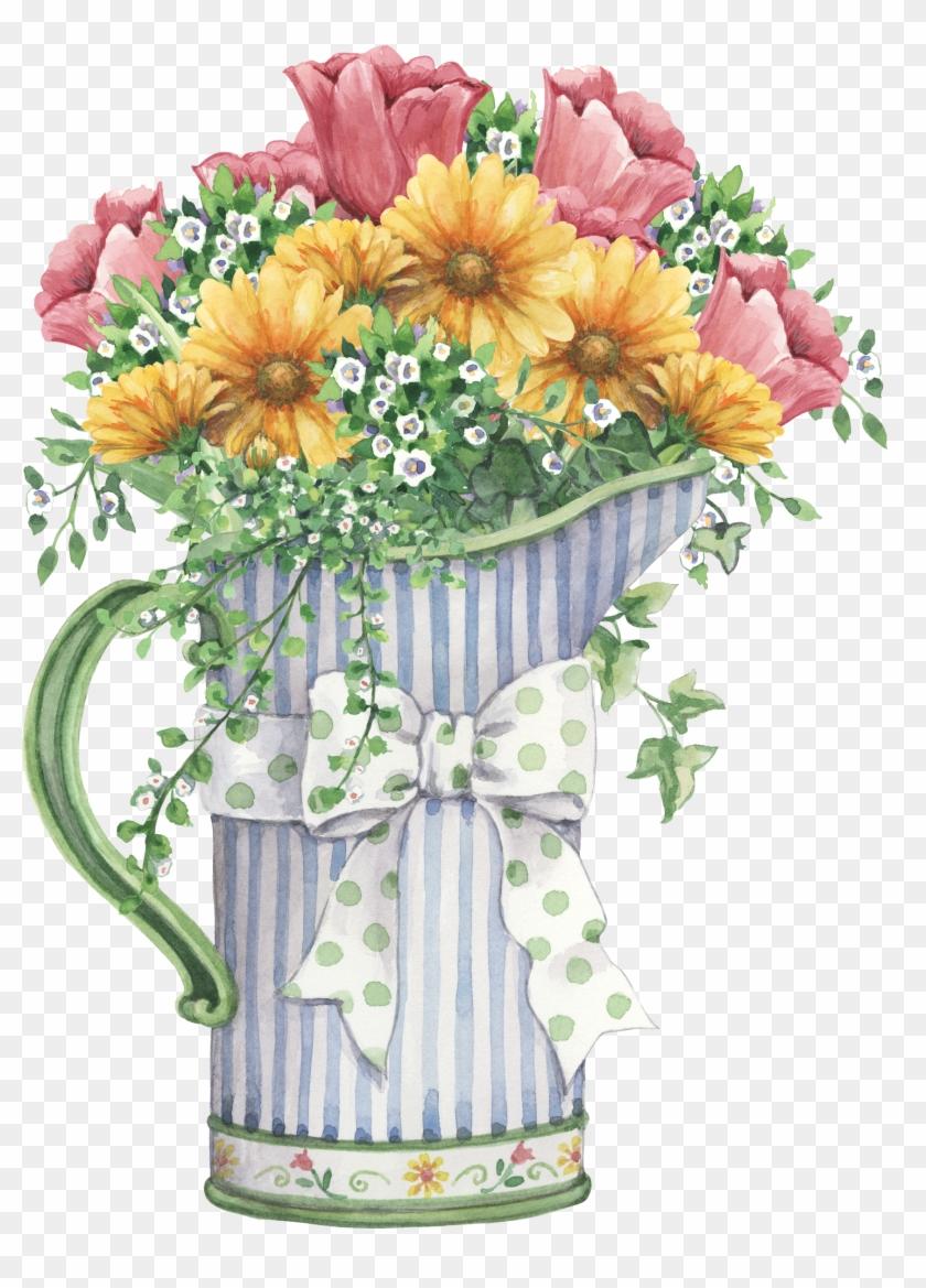 Flores Vintage, Dibujos De Rosas, Dibujos De Todo, - Cuadros De Flores Para Baño #288202