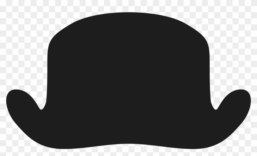 Movember Bowler Hat Png Clipart Image - Green Apple Clip Art #288213