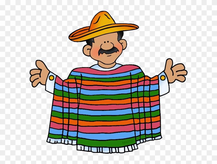 Mexican Man - Mexican Clipart #288209