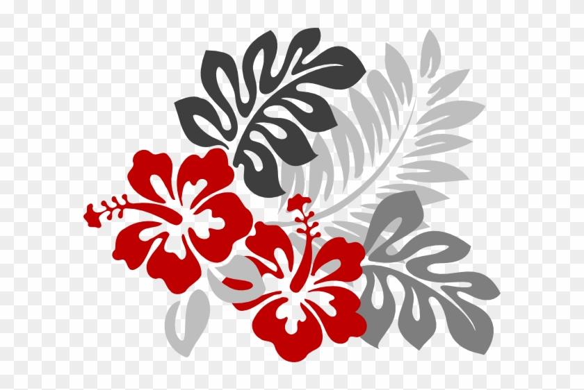 Hibiscus Flower Clip Art - Hawaiian Flower Clipart #288240