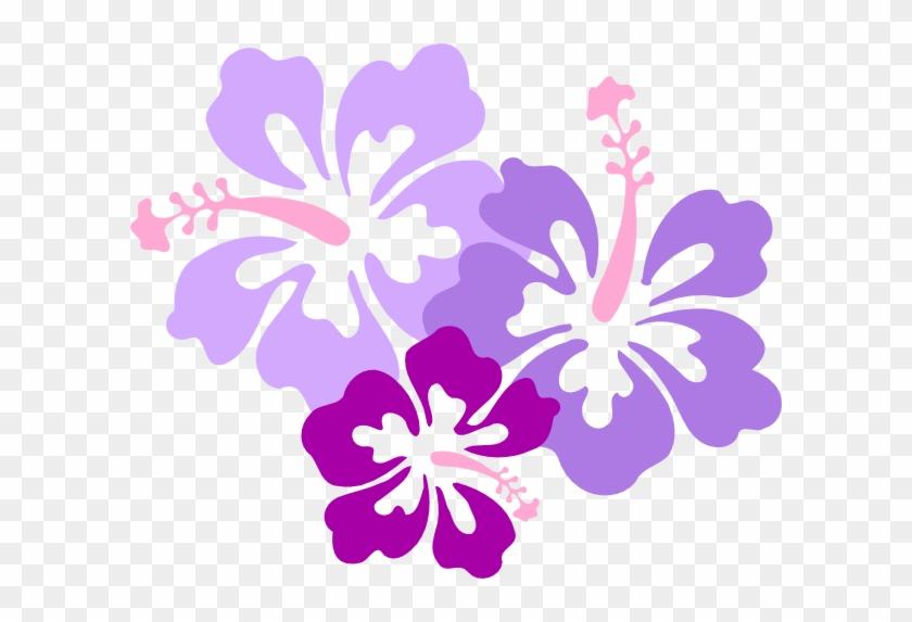Purple Hibiscus Flower Clipart - Hibiscus Clip Art #288254