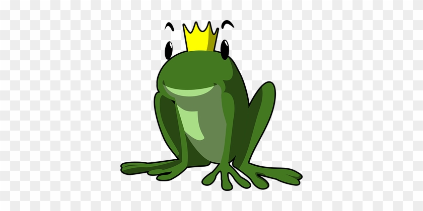 Green Frog Clipart Pixabay - Frog Prince Clipart #288268