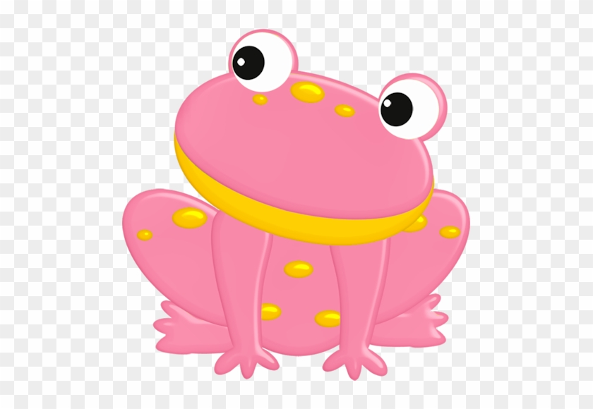 Pink Frog Clipart - Cute Pink Frog #288301