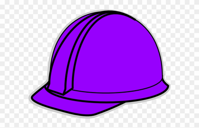 Purple Hard Hat Clip Art At Clker - Purple Hat Clip Art #288319
