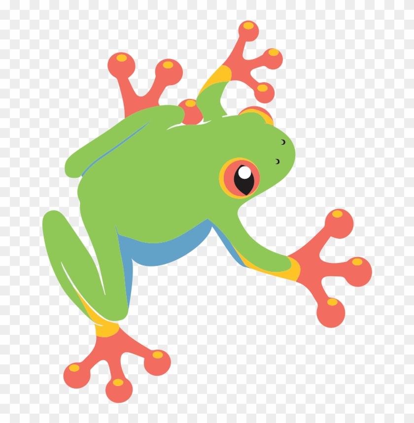 Green Tree Frog Cartoon #288320