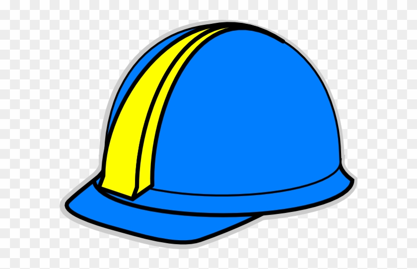 Blue Hard Hat Clip Art At Clker - Blue Hard Hat Png #288331