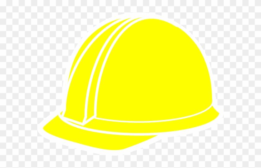 Yellow Hard Hat Clipart #288337