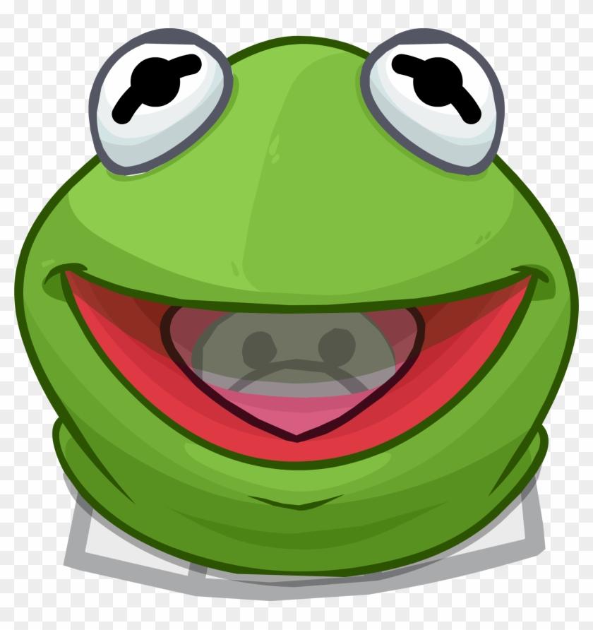 Kermit The Frog Head - Kermit The Frog Head Png #288347