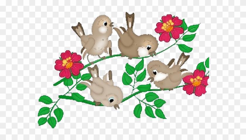 Love Birds Cartoon Animal Clip Art Images Are Free - Cartoon Birds And Transparent #288377