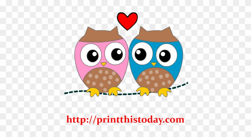Bird Clipart Owl - Cute Letter Writing Paper #288381