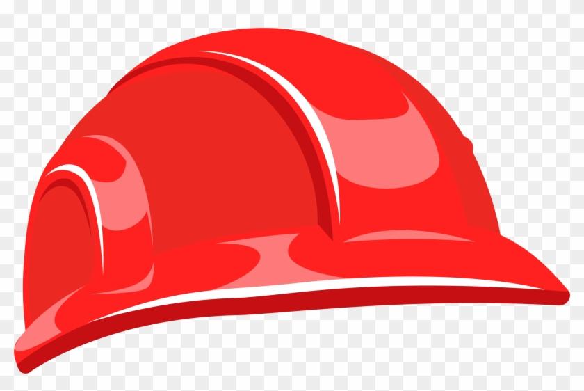 Helmet Hard Hat - Red Hard Hat Png #288396