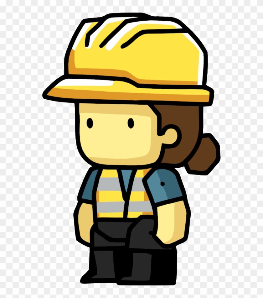 Worker Female - Scribblenauts Unlimited #288403